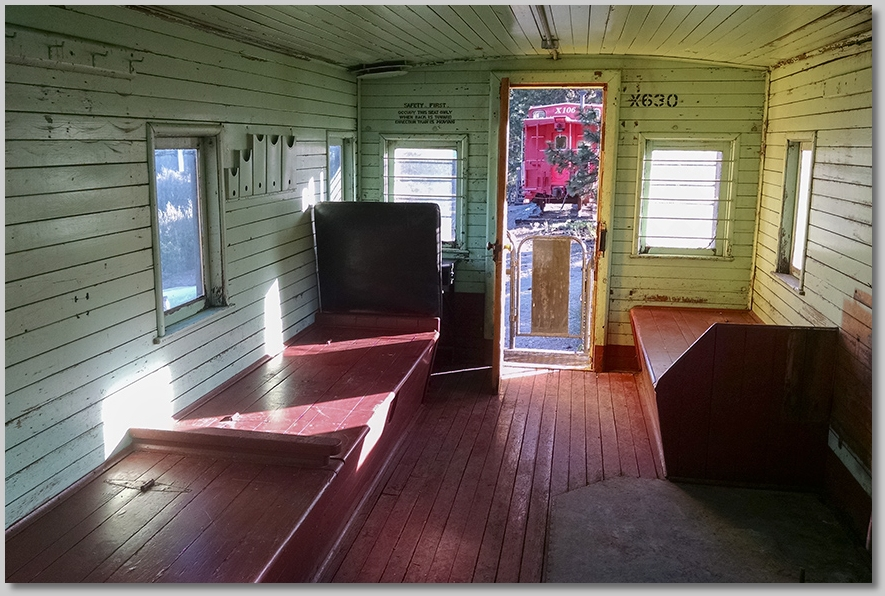 Great Northern Caboose X630