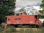 Burlington Northern Caboose